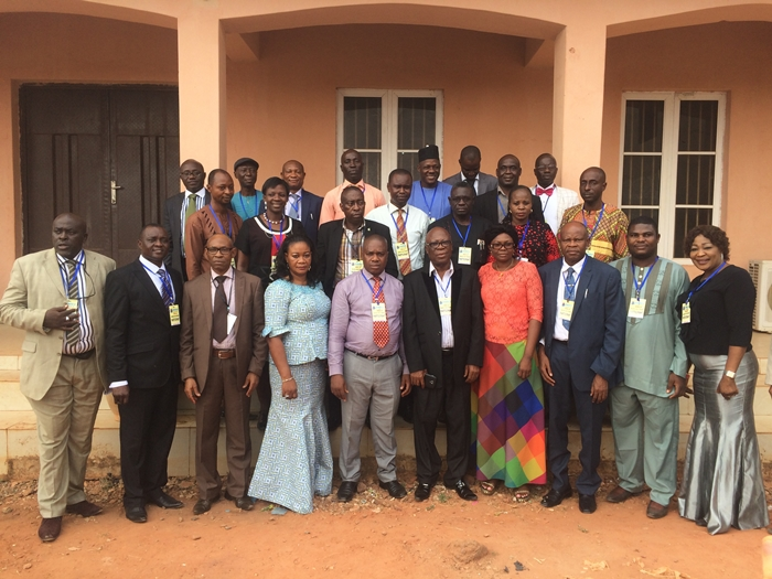 DSIEC Commissioners and Delta State Journalists