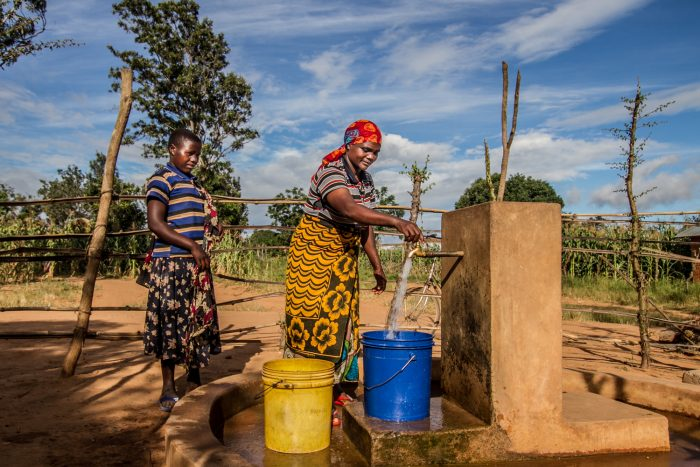 Improved rural water supply