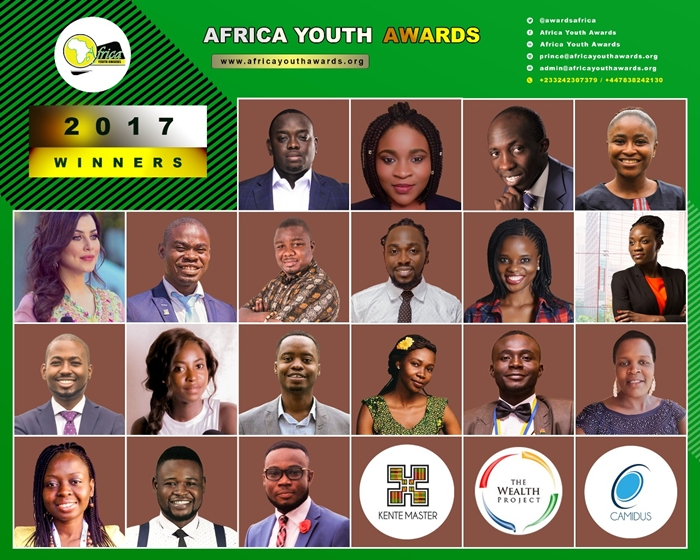2017 Africa Youth Award Winners