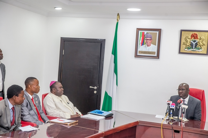 Maritime Security Agency Visit Governor Obaseki