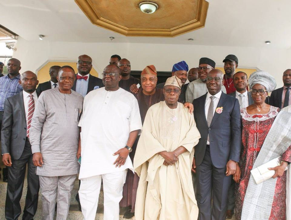 Obasanjo Commends Obaseki