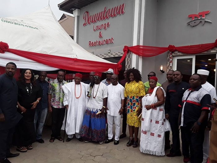Dr Emmanuel Uduaghan Commissions Downtown Lounge And Restaurant Asaba