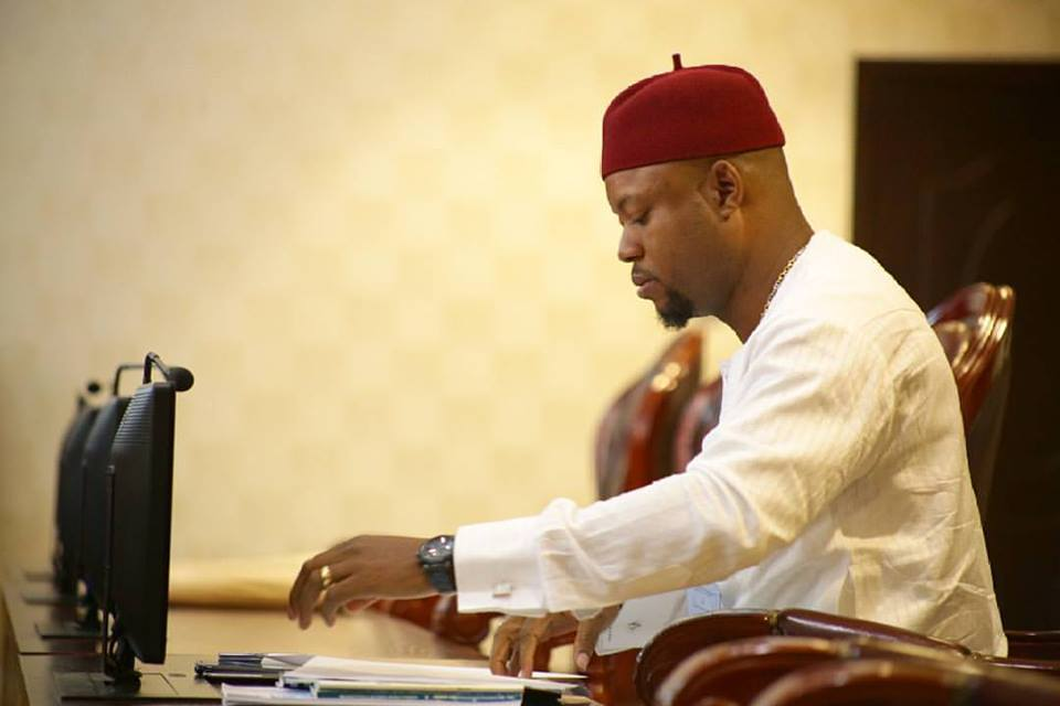 Hon. Engr. Emeka Nwaobi, Member Representing Aniocha North Constituency in the Delta State House of Assembly
