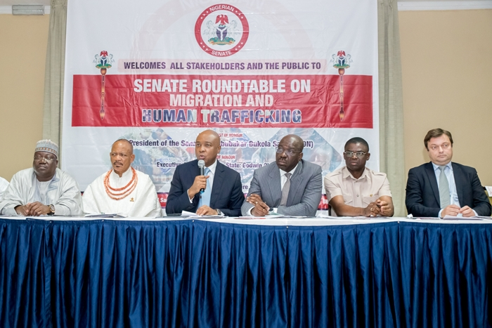 Senate Roundtable on Migration and Human Trafficking in Benin City