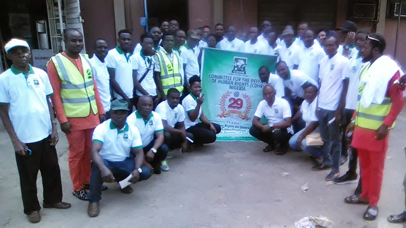 Committee for the Defence of Human Rights, CDHR, Delta State Chapter