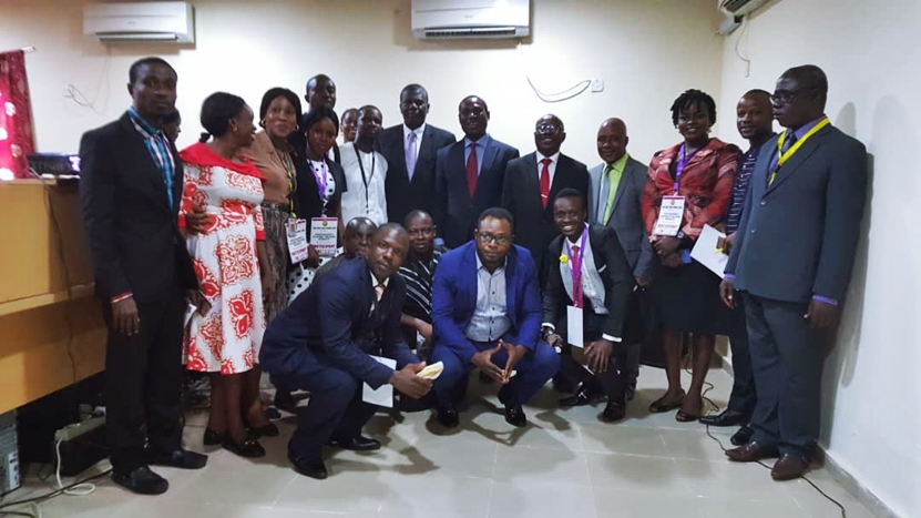 A cross section of participants at the 2-day workshop on grantsmanship and academic publishing organised by Edo State Polytechnic Usen, held at the school's ICT center, in Edo State.