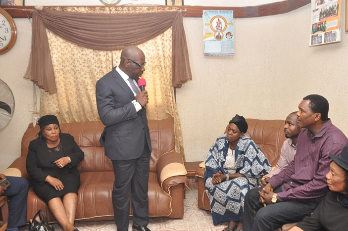 Obaseki Mourns Late Timothy Oboh