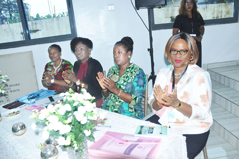 R-L: Special Adviser on Gender Issues to the Governor, Ms Efosa Uyigue; Wife of the Edo State Governor, Mrs Betsy Obaseki; Wife of the Deputy Governor, Mrs Maryann Shaibu; and Commissioner for Women Affairs and Social Development, Hon. Magdalene Ohenhen, at the one-day workshop organised by the Office of the Special Adviser to the Governor on Gender Issues, in collaboration with the Office of the Wife of the Edo State Governor, in Benin City on Thursday, September 13, 2018.