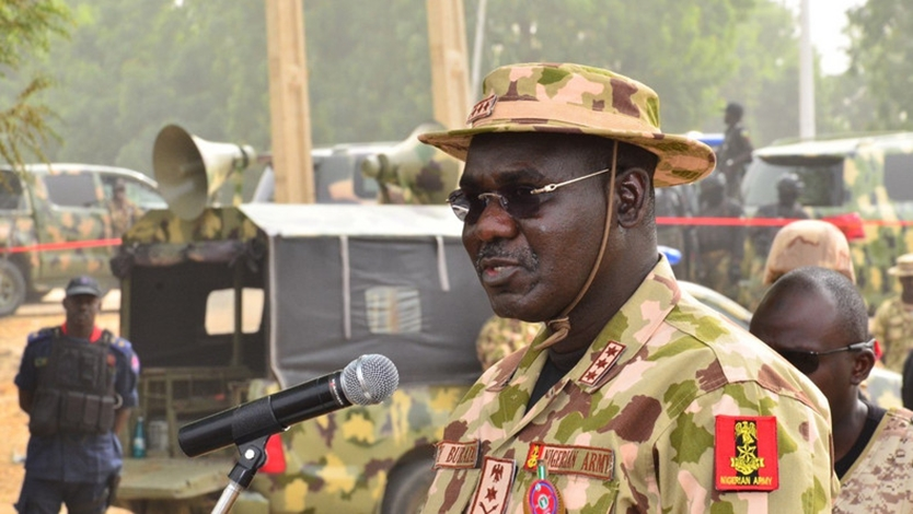 Chief of Army Staff, Lieutenant General Tukur Yusuf Buratai