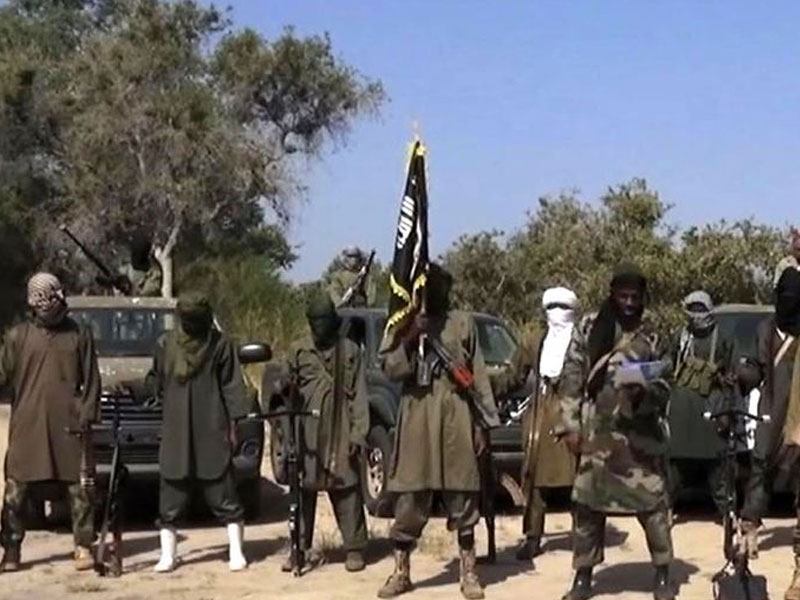 Illustration Photo Showing Boko Haram Terrorists