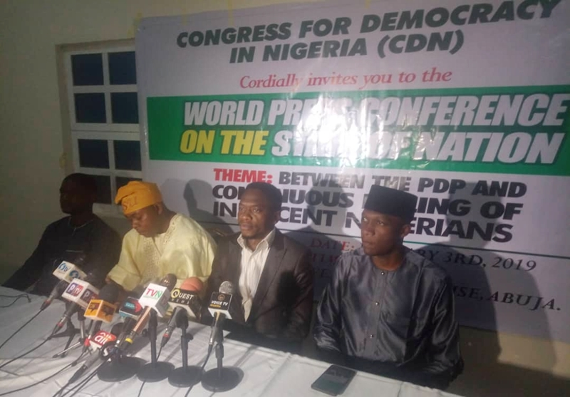 Convention for Democracy in Nigeria