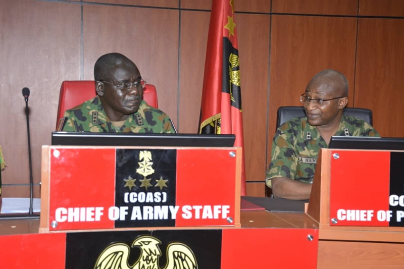 Chief of Army Staff Lt Gen Tukur Buratai