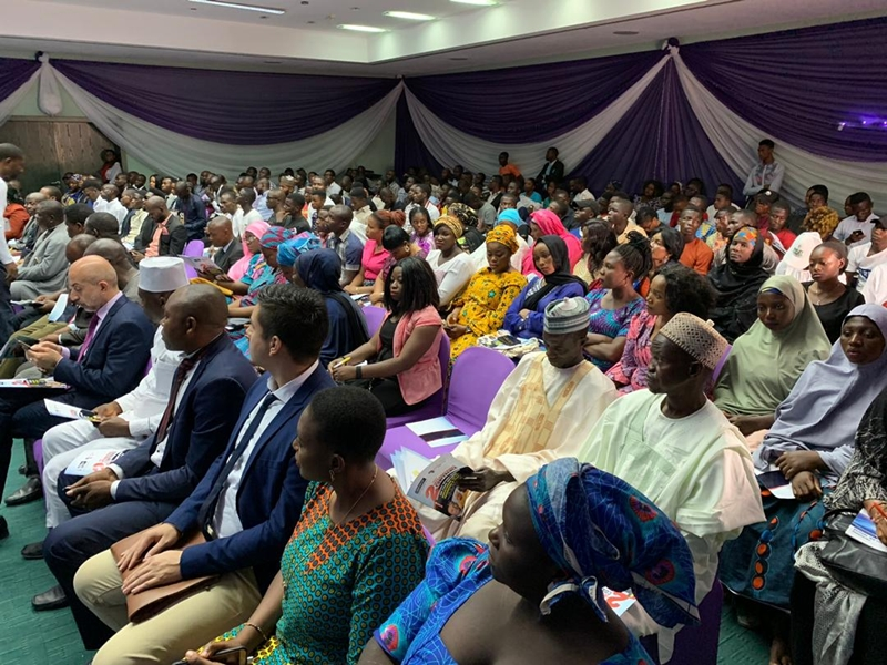 Participants at the International Conference on Politics, Religion and Ethnicity in Nigeriaorganizedby the National Inter-Faith and Religious Organizations for Peace (NIFROP)