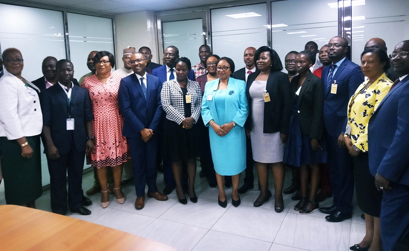 The Management of Petroleum Authority of Uganda Courtesy Visit to DPR's office to learn more about regulatory operations in the Oil and Gas Industry