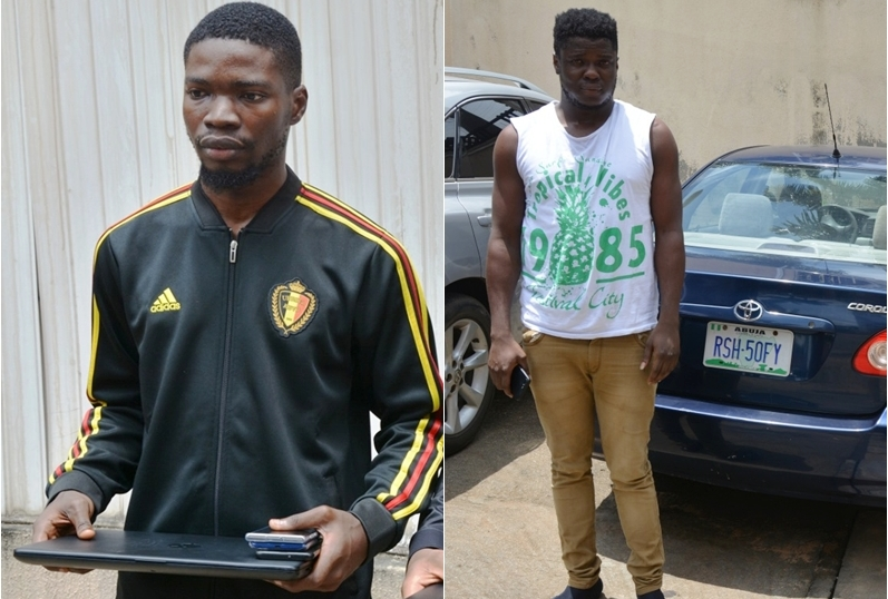 Suspected Yahoo Boys Arrested by EFCC