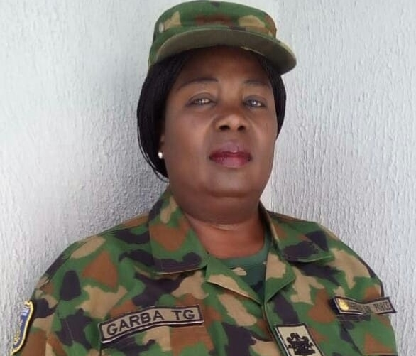 Master Warrant Officer Grace Tabawa Garba