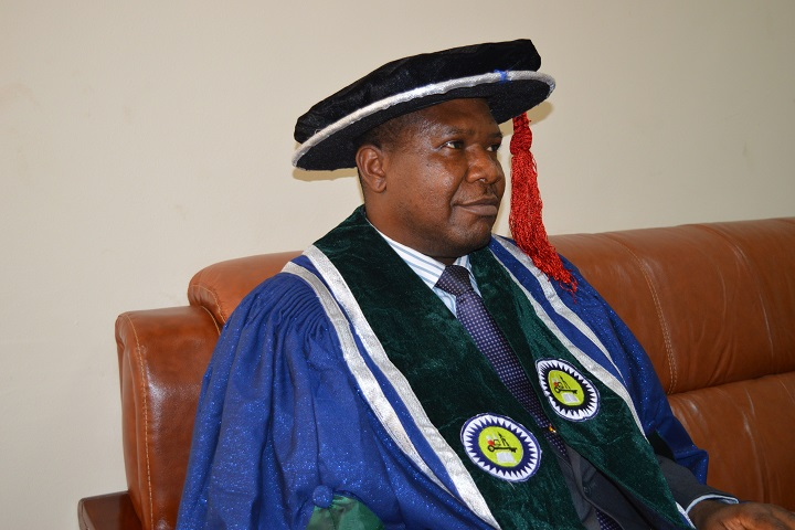 Prof. Emmanuel Aluyor. Vice Chancellor, Edo University, Iyamho