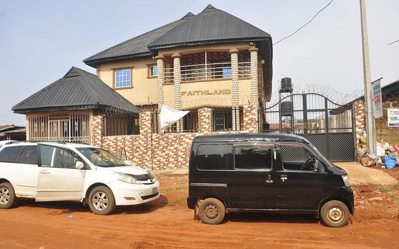 Famous Faithland Orphanage Home shutdown by the Edo State Government